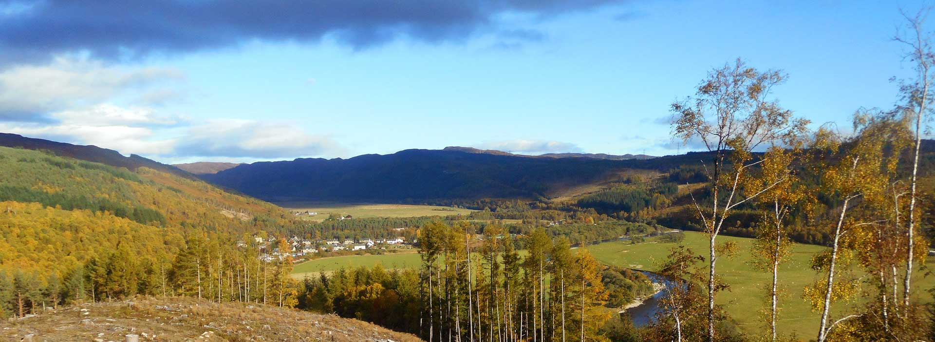 Strathglass from Comar Wood Dun